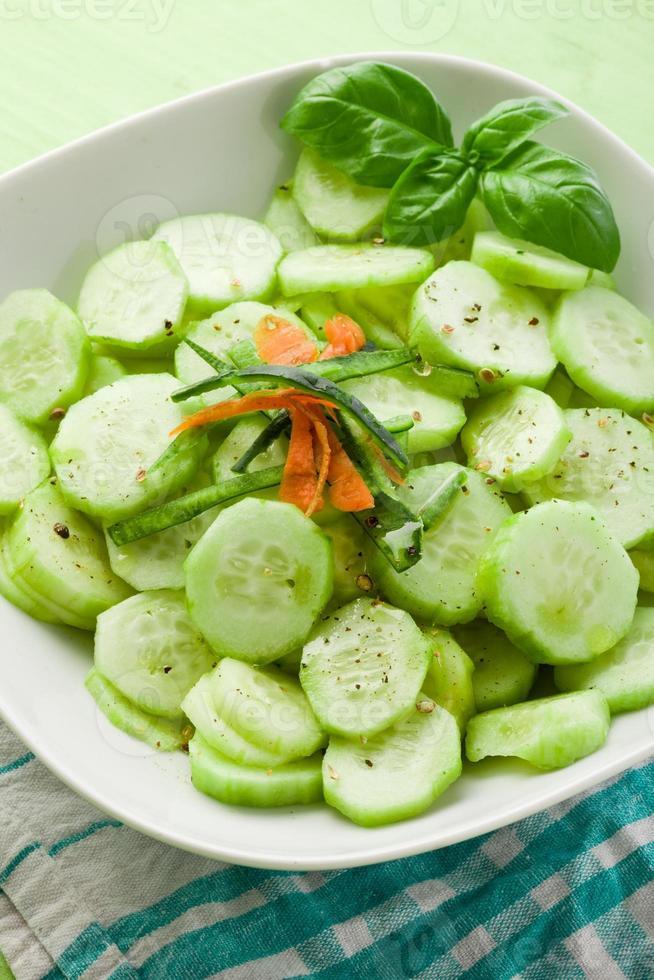 Gurkensalat foto
