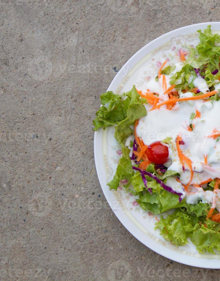 Salat für die Ernährung foto