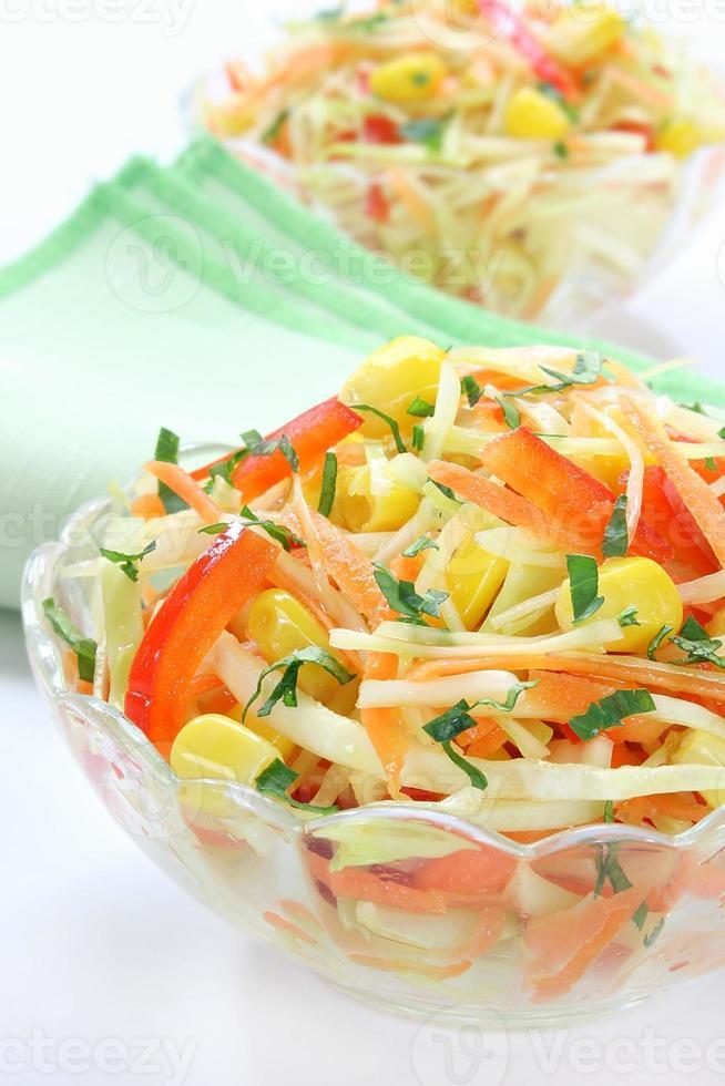 Salat mit Kohl foto