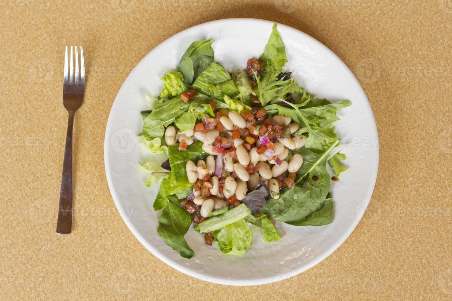 Cannellini Bohnensalat foto