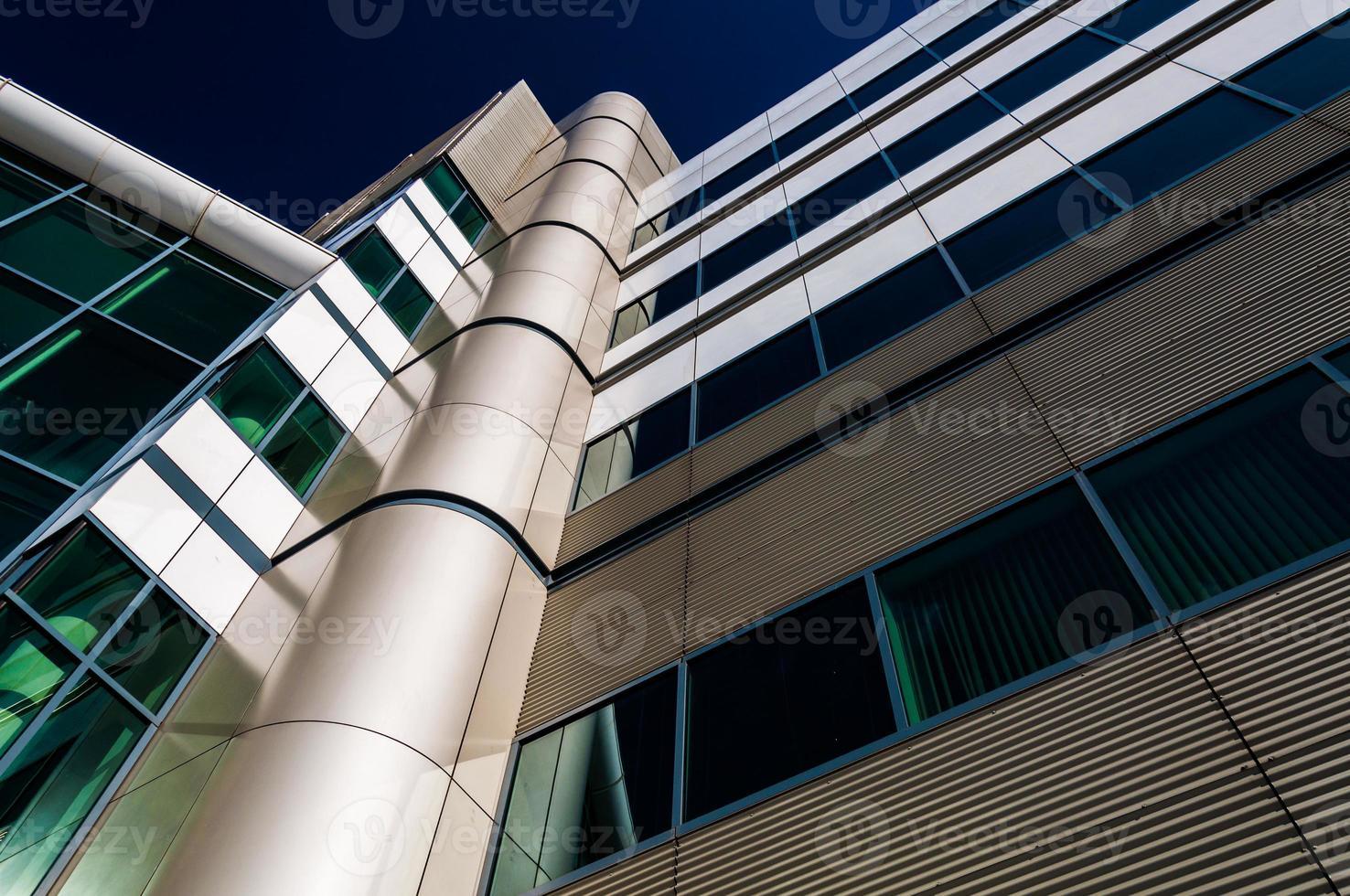 moderne architektur im inneren hafen von baltimore, maryland. foto