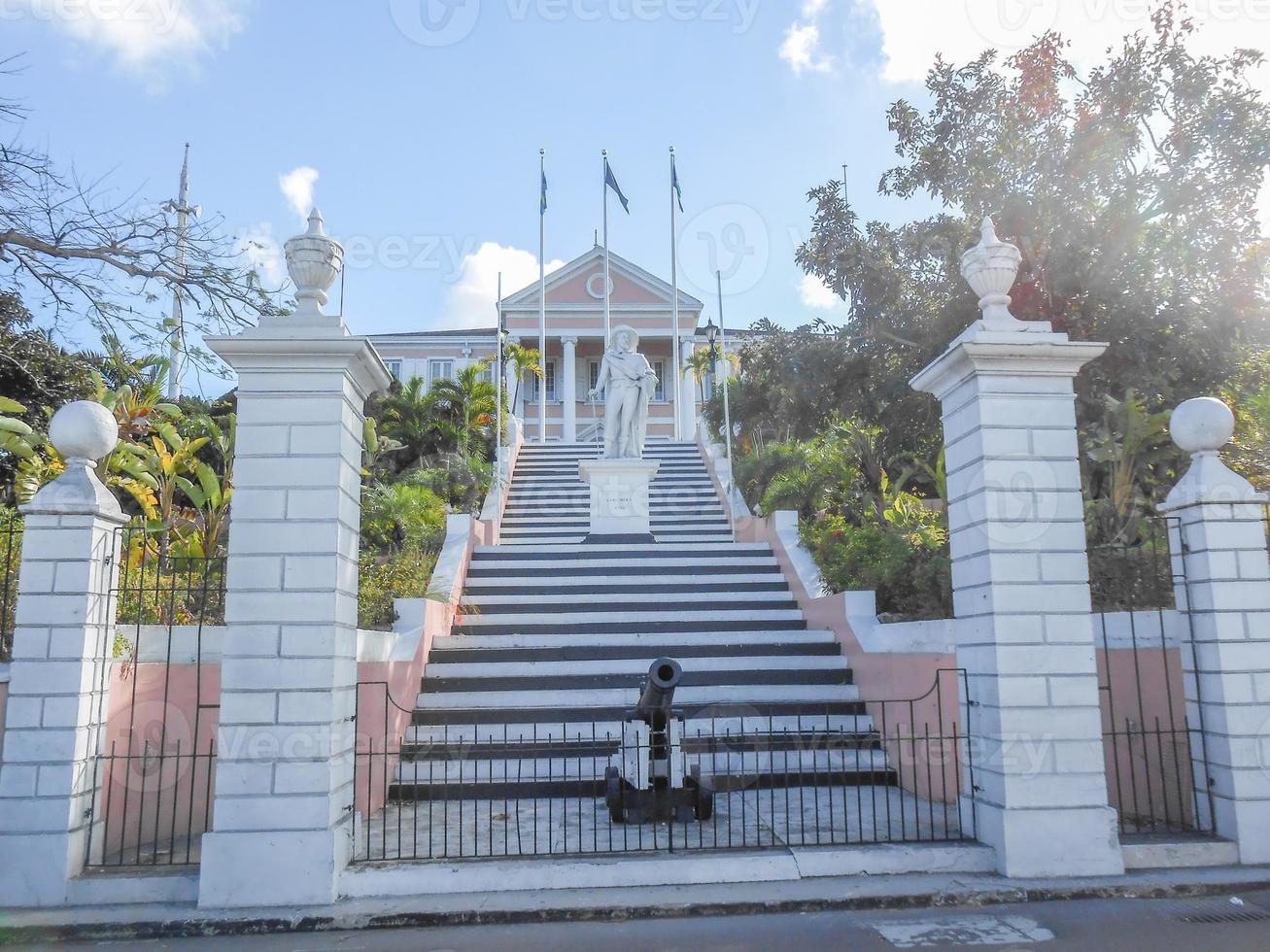 Gouverneurshaus in Nassau USA foto