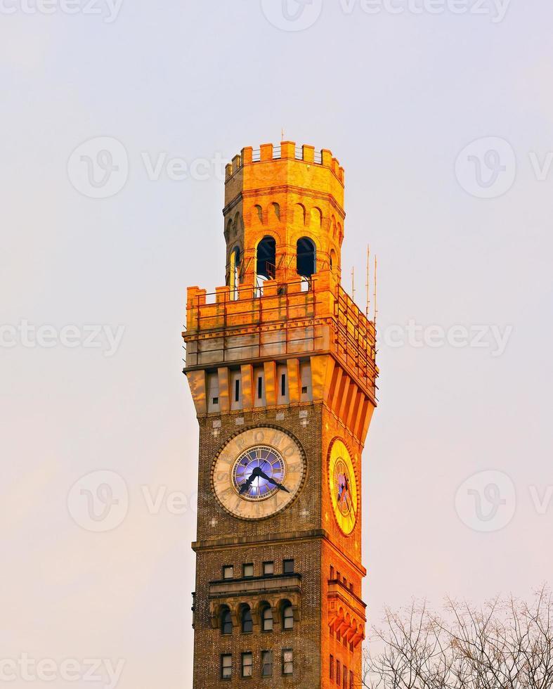 Emerson Brom-Selters-Turm in der Innenstadt von Baltimore. foto