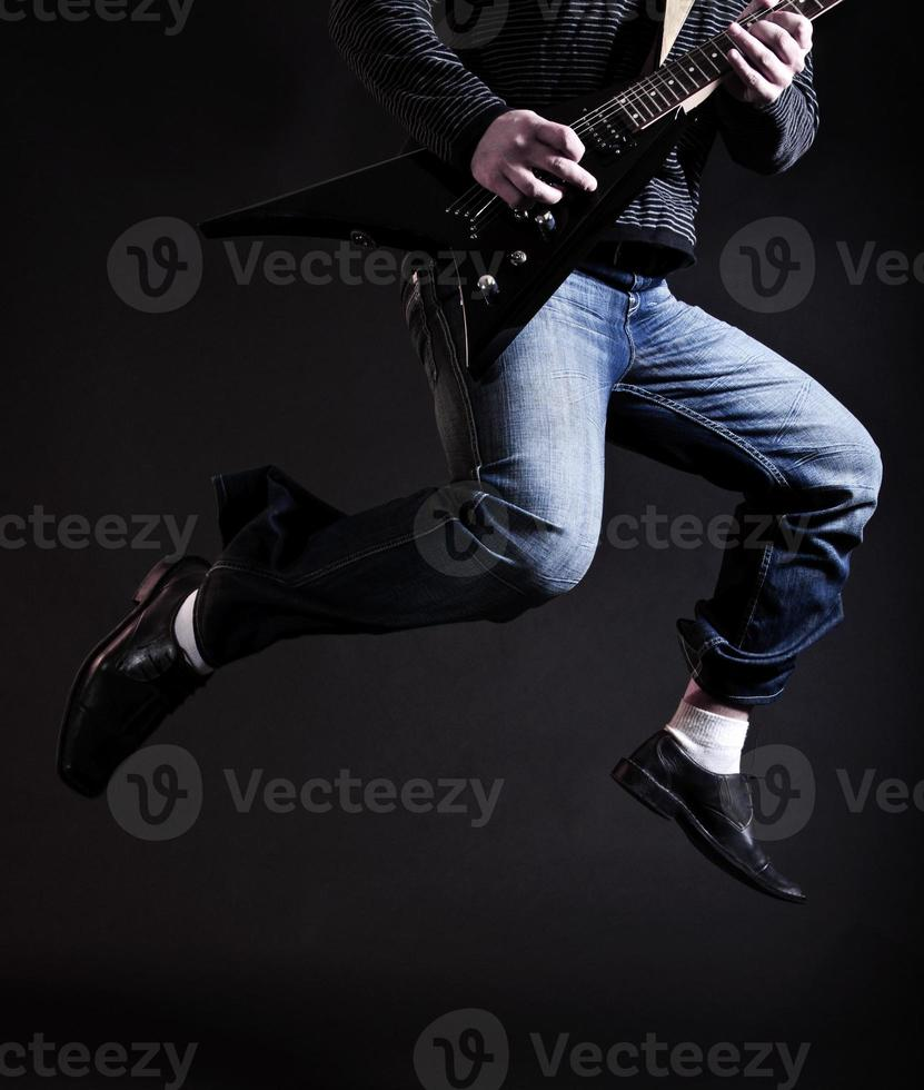 Rockstar in der Luft foto