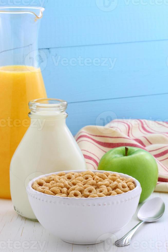 leckeres und gesundes Honignussgetreide foto