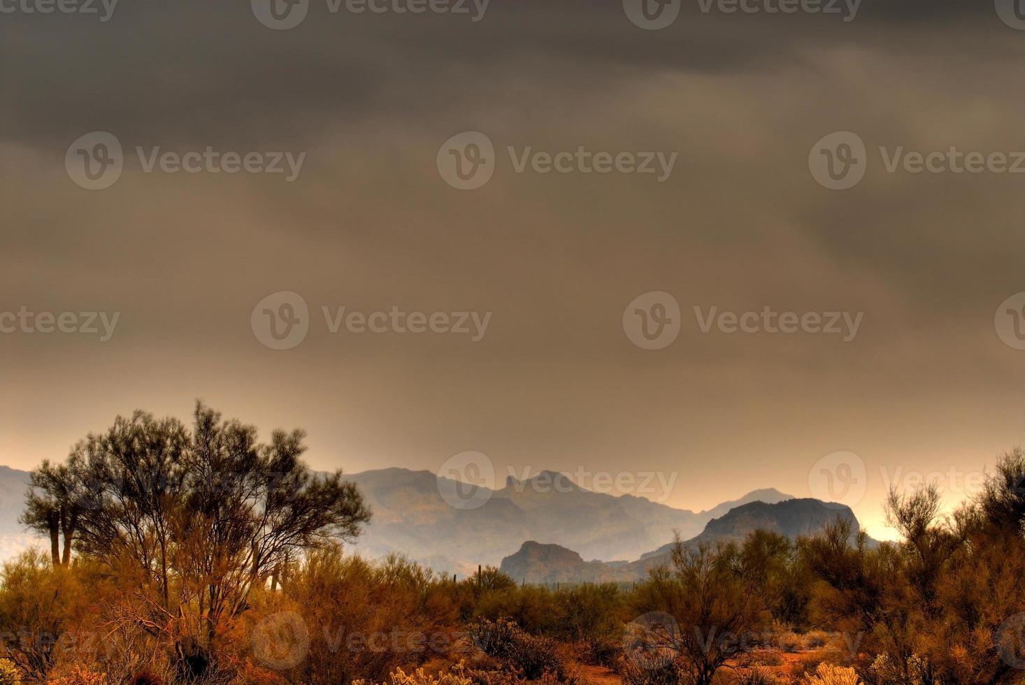 Wüstensturm nähert sich 3 foto