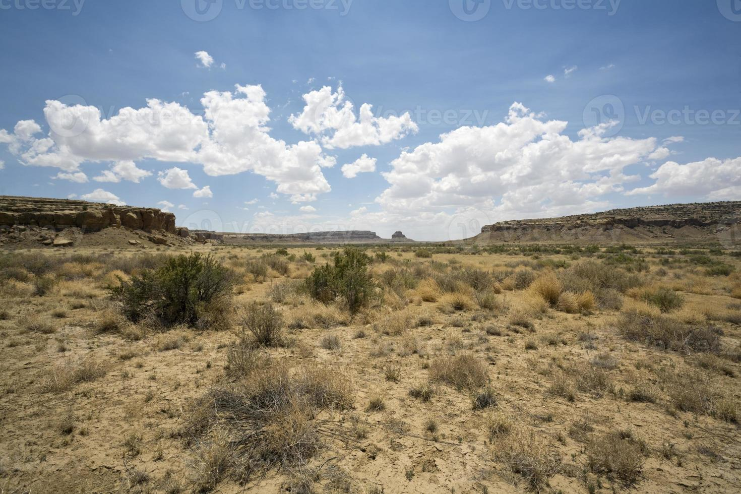Wüsten-Mesa-Szene foto