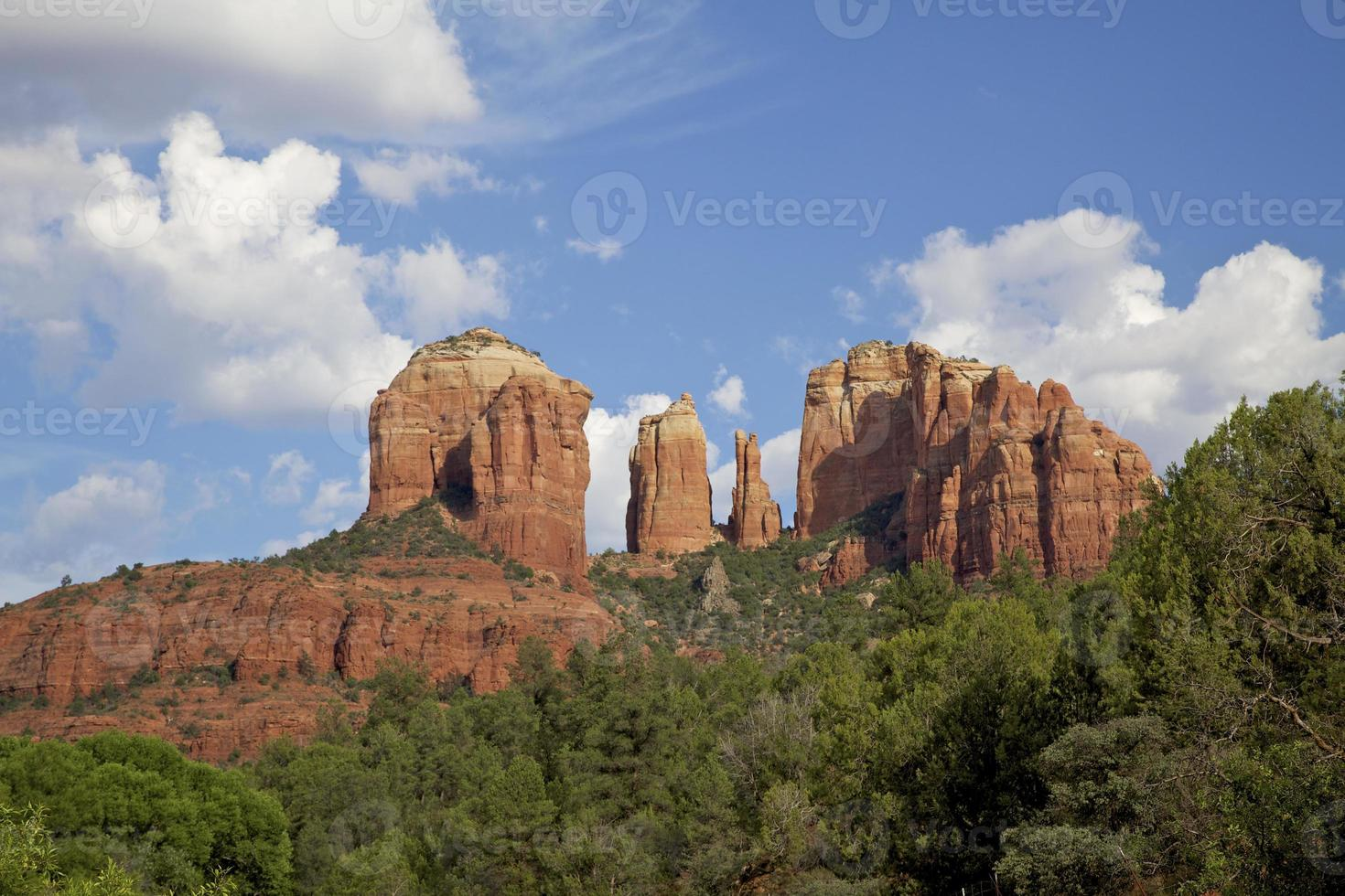 Kathedrale Felsen Sedona Arizona foto