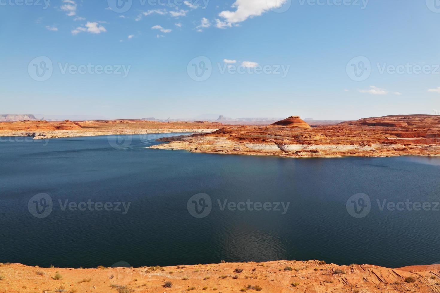 herrlicher riesiger und schöner See powell foto