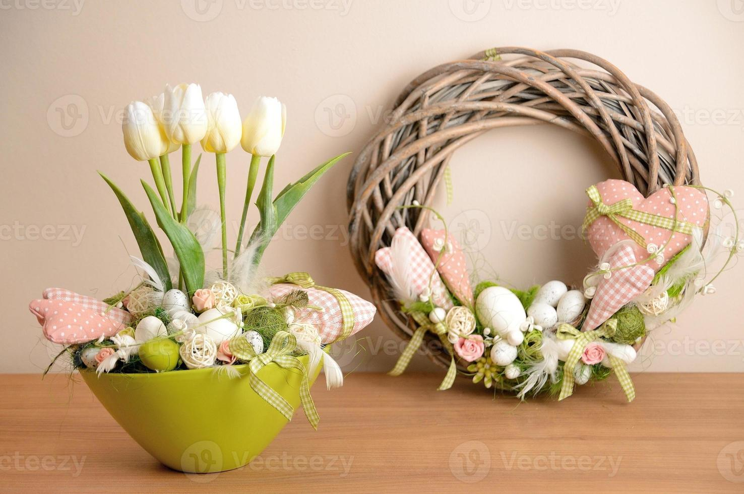 Frühlingsdekoration foto