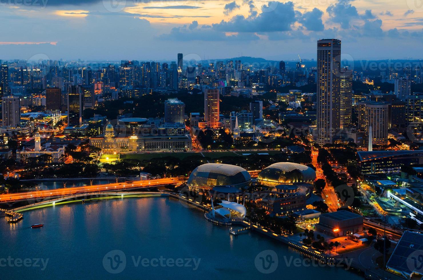 Singapur Innenstadt foto