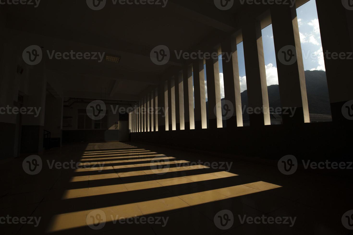 Schatten in der Schule foto