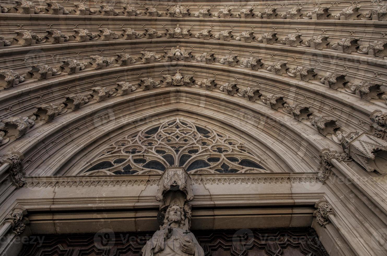 Barcelona Kathedrale in Katalonien / Spanien foto
