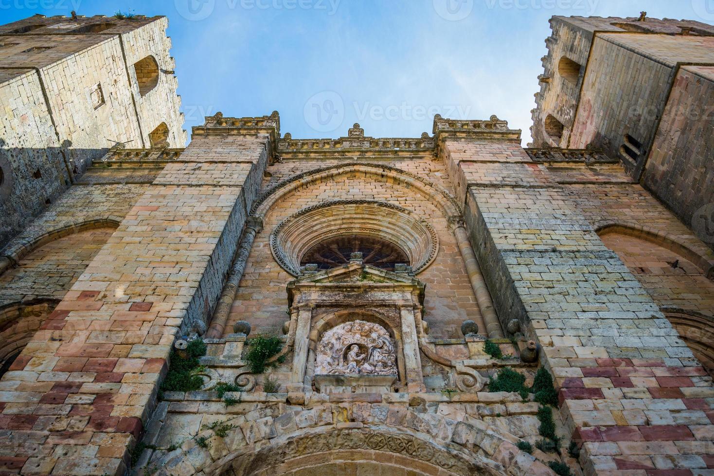 Siguenzas Kathedrale, Guadalajara, Spanien. foto