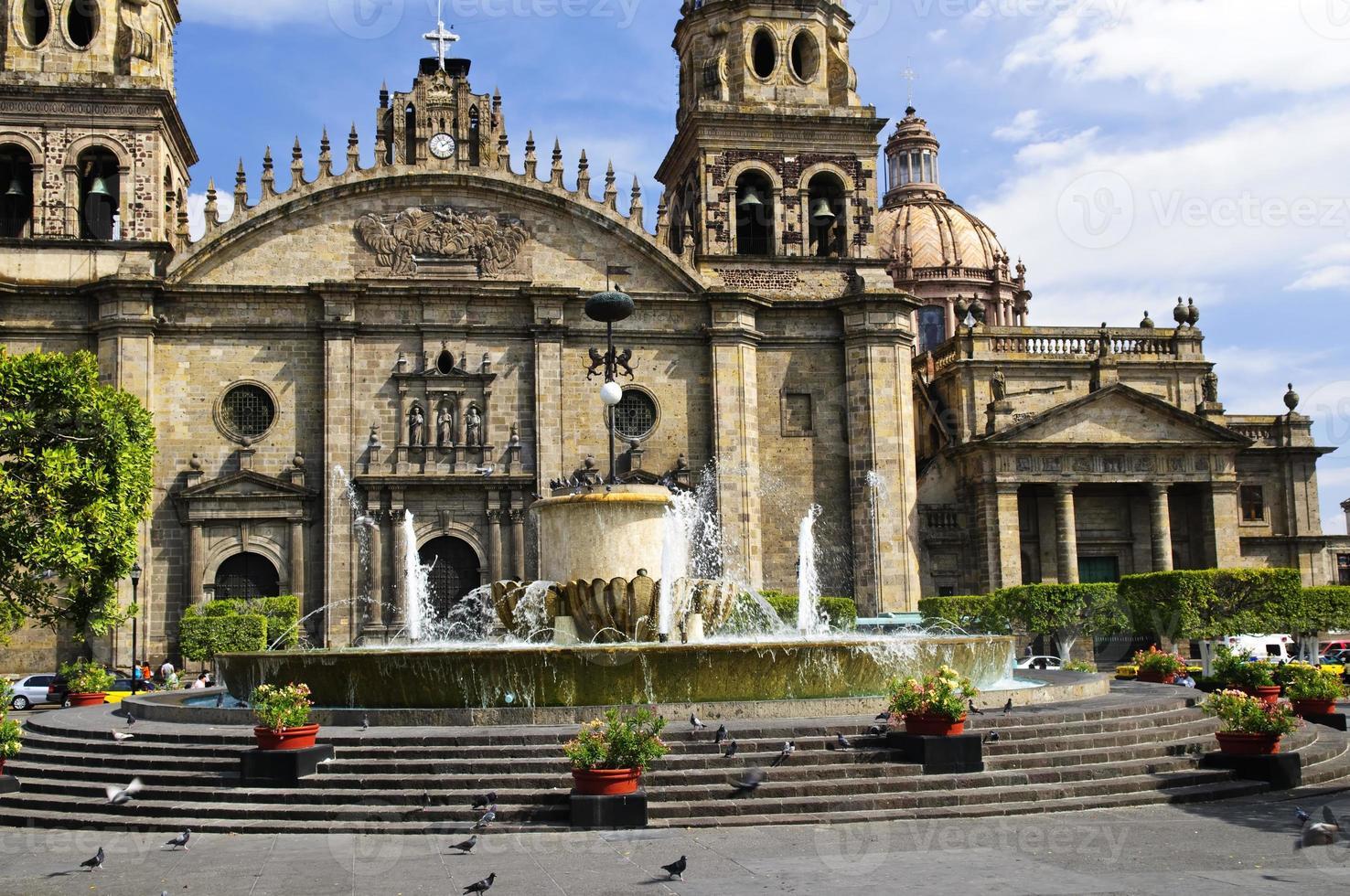 Guadalajara Kathedrale in Jalisco, Mexiko foto