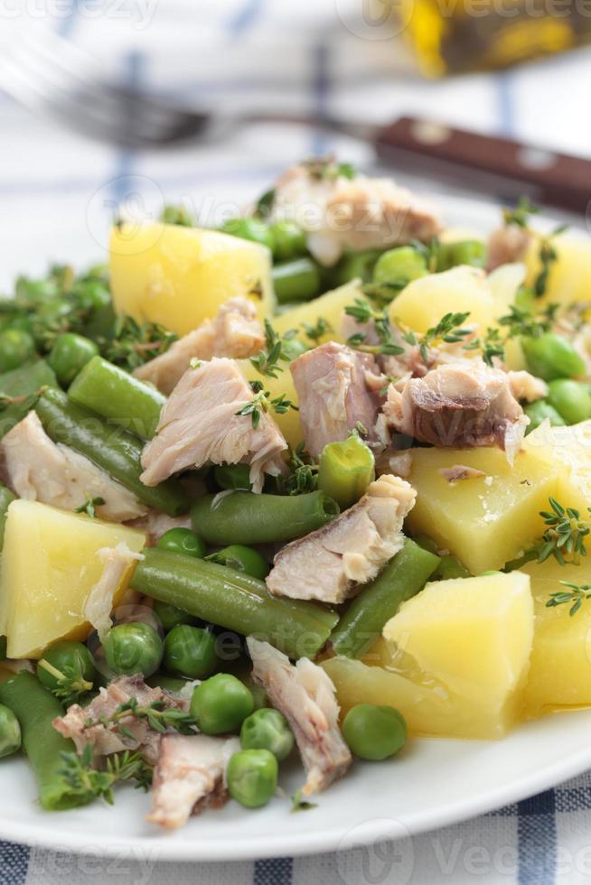 Thunfisch-Kartoffel-Salat foto