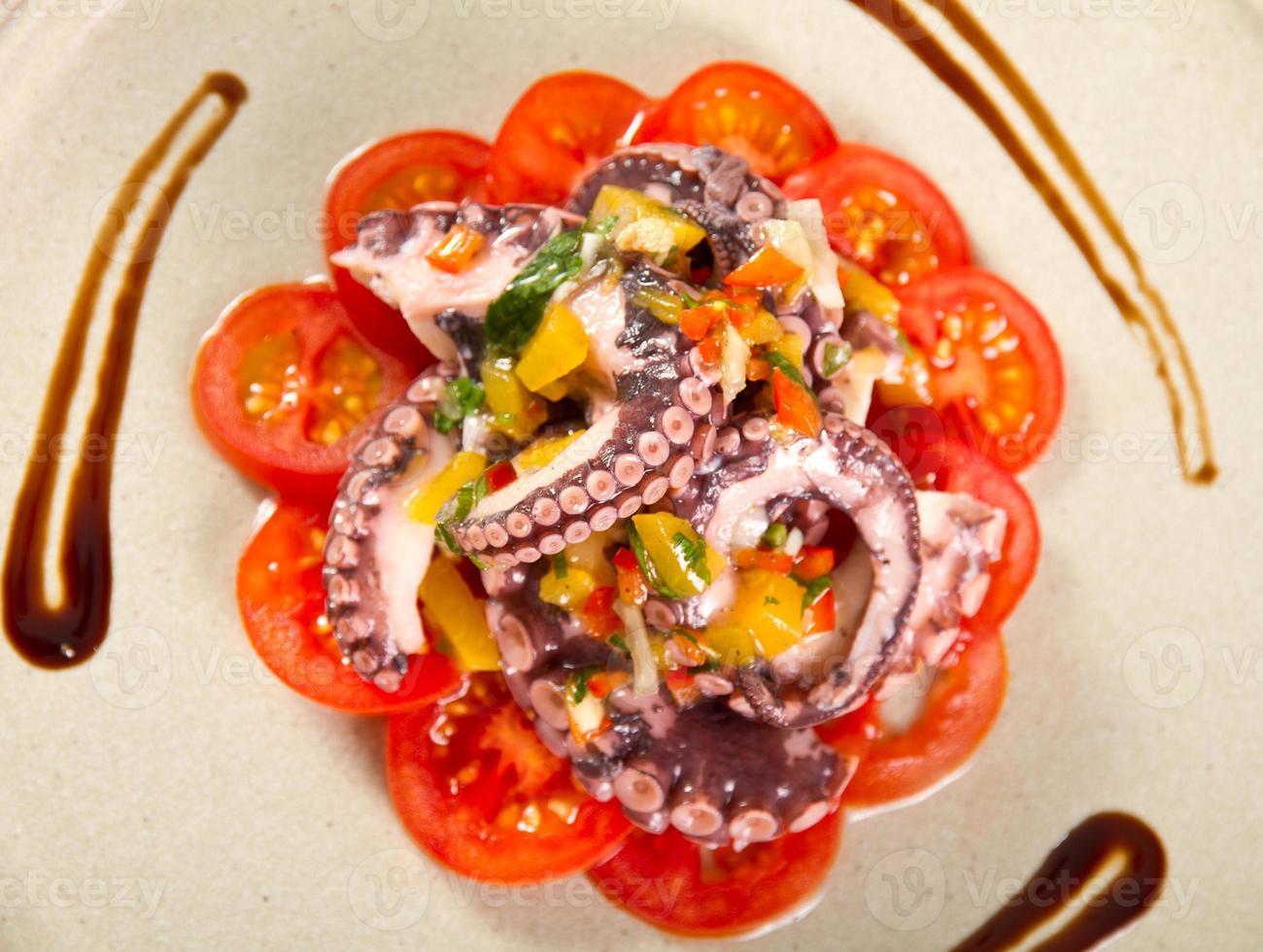 Tintenfischsalat foto