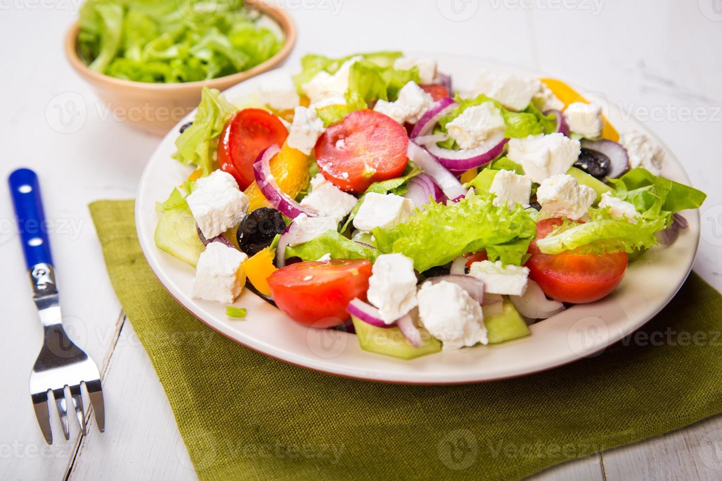 Griechenland Salat foto
