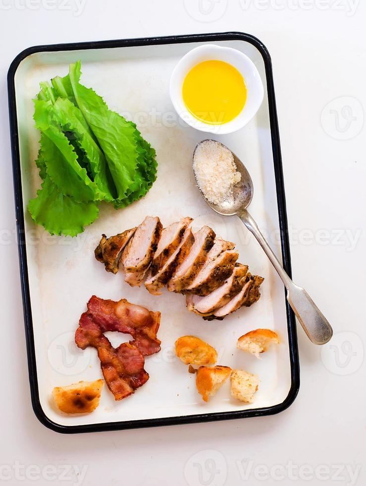 Caesar Salat . foto