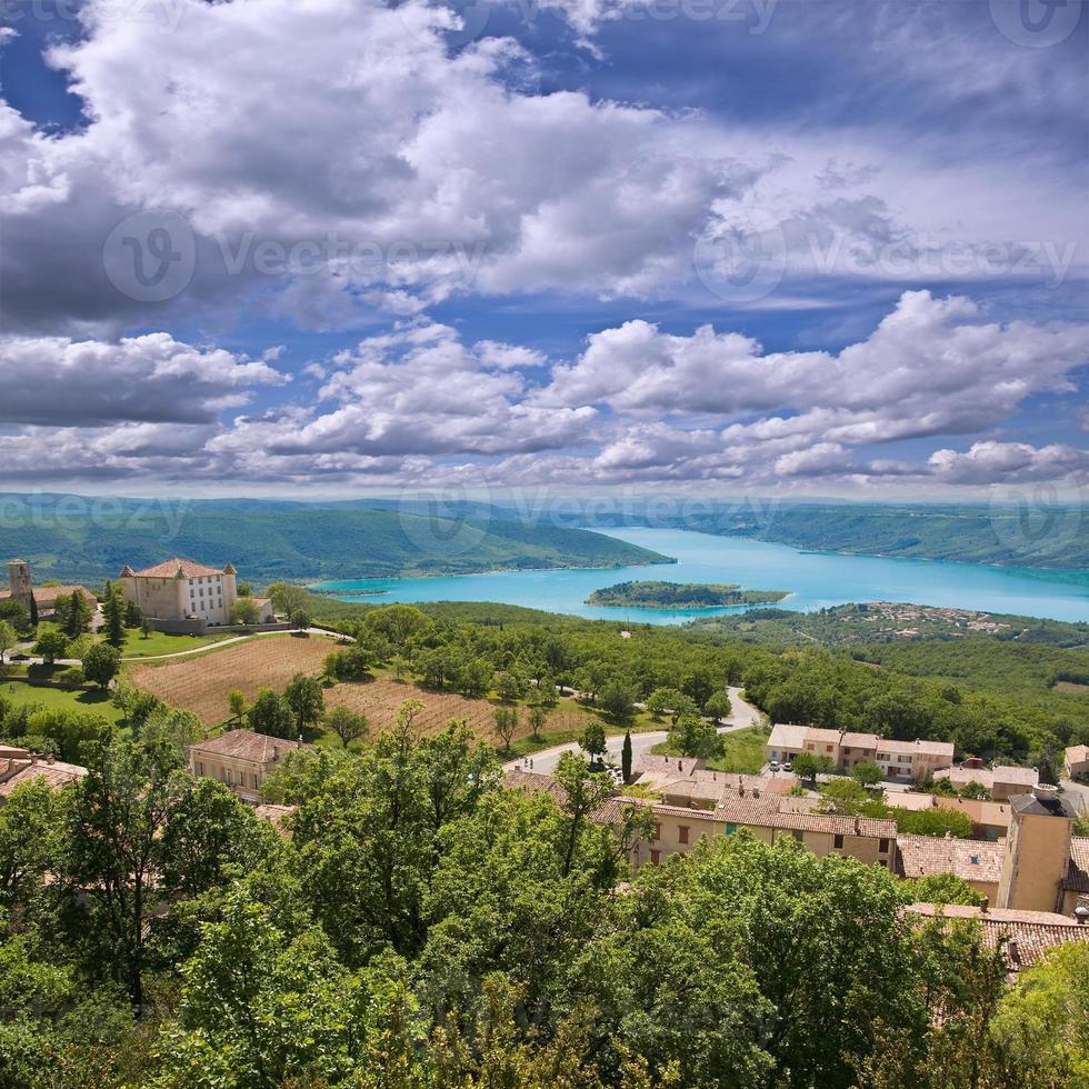 Landschaft der Provence. foto