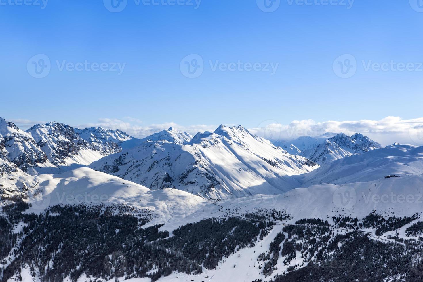 Alpen Berglandschaft foto