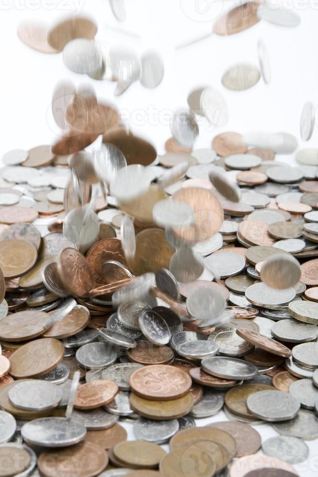 fallendes Geld foto
