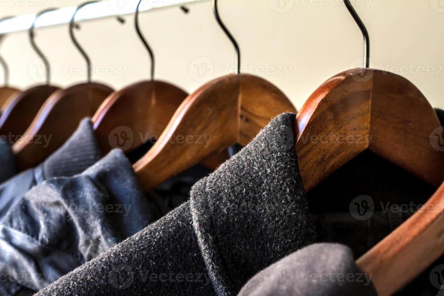 Winterkleidung foto