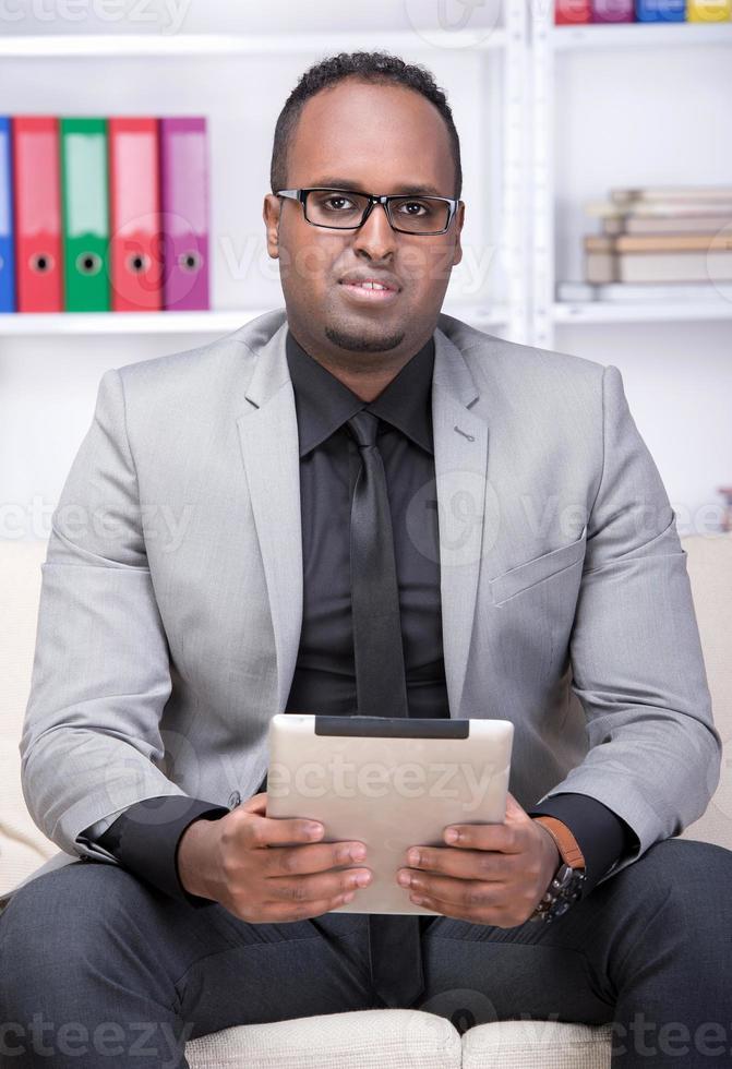 schwarzer Mann foto