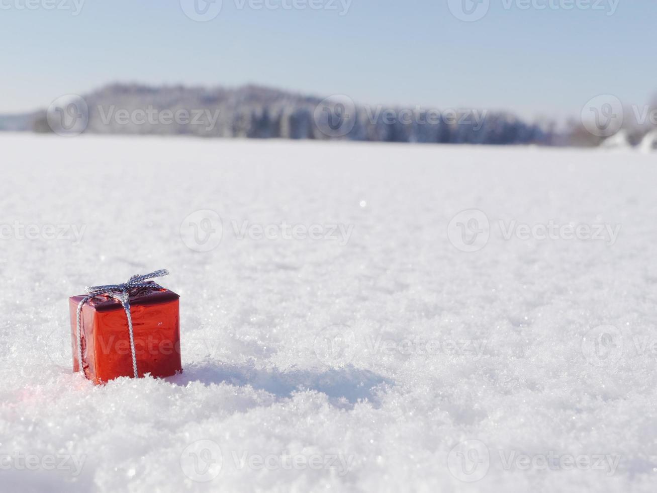 Weihnachtsdekoration Winter foto