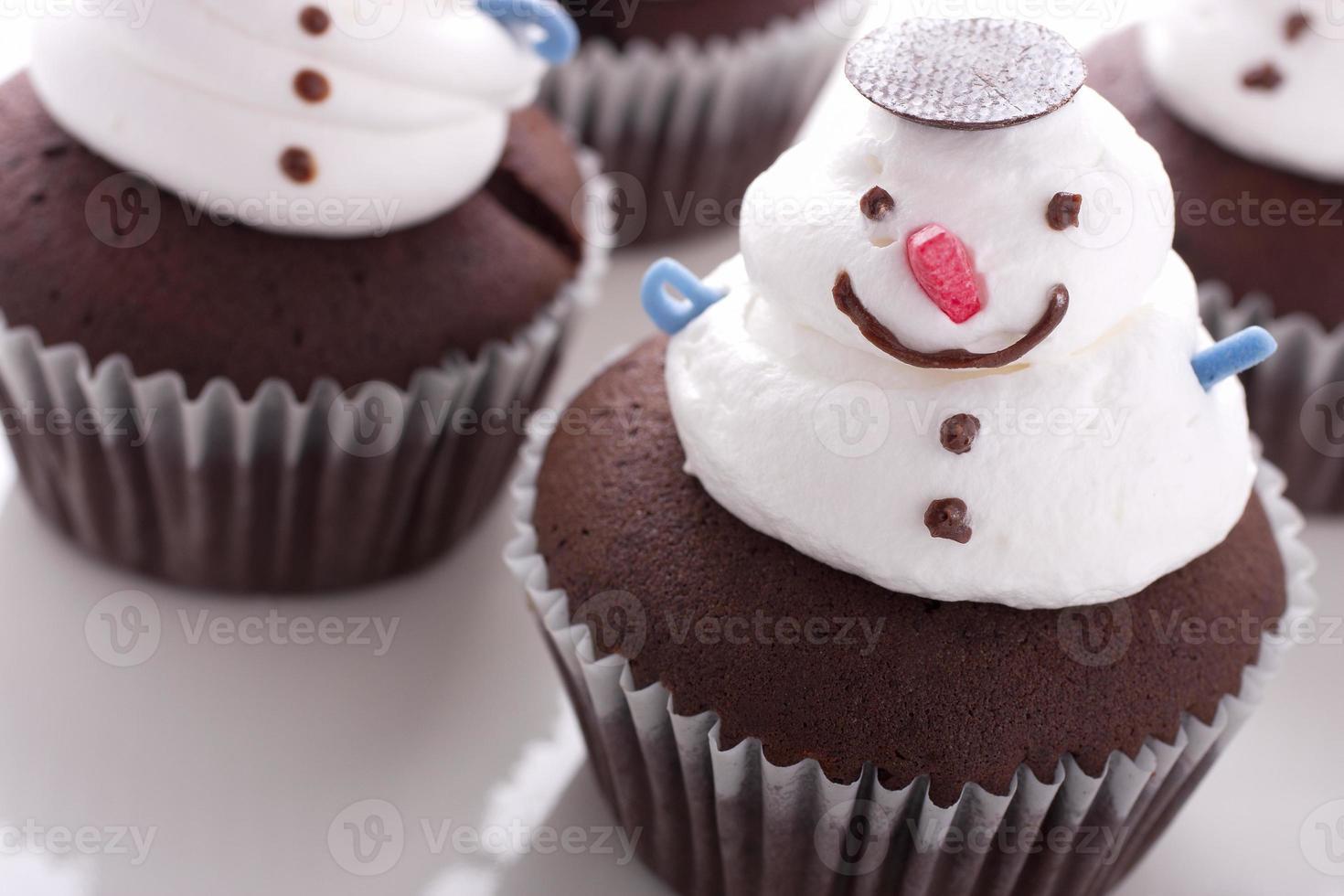 Weihnachtscupcake foto