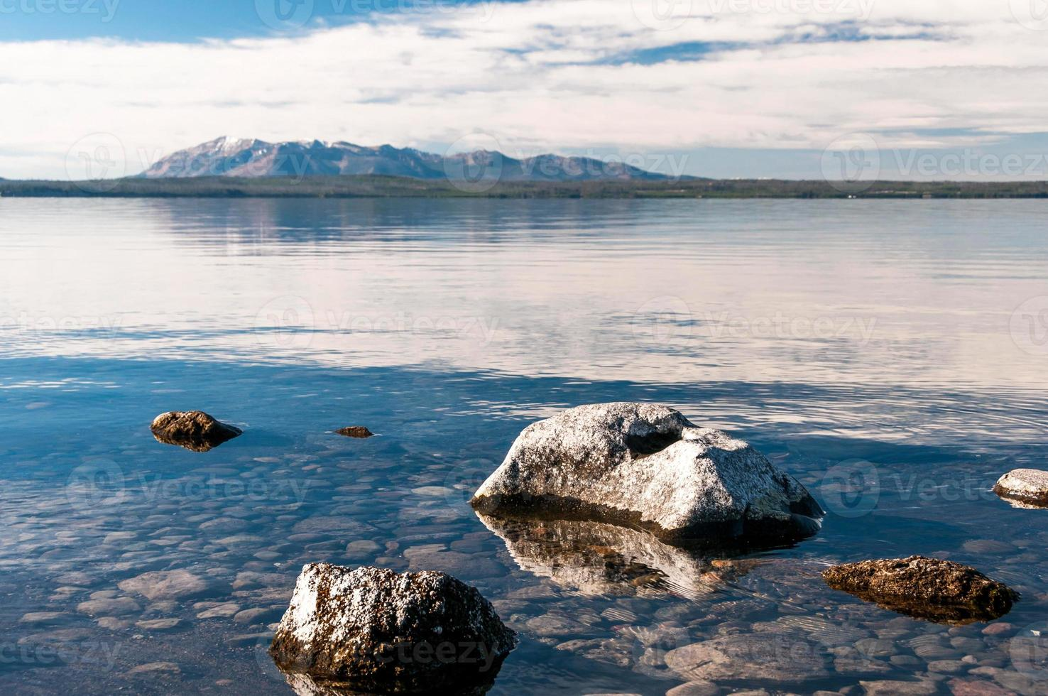 Yellowstone See. foto