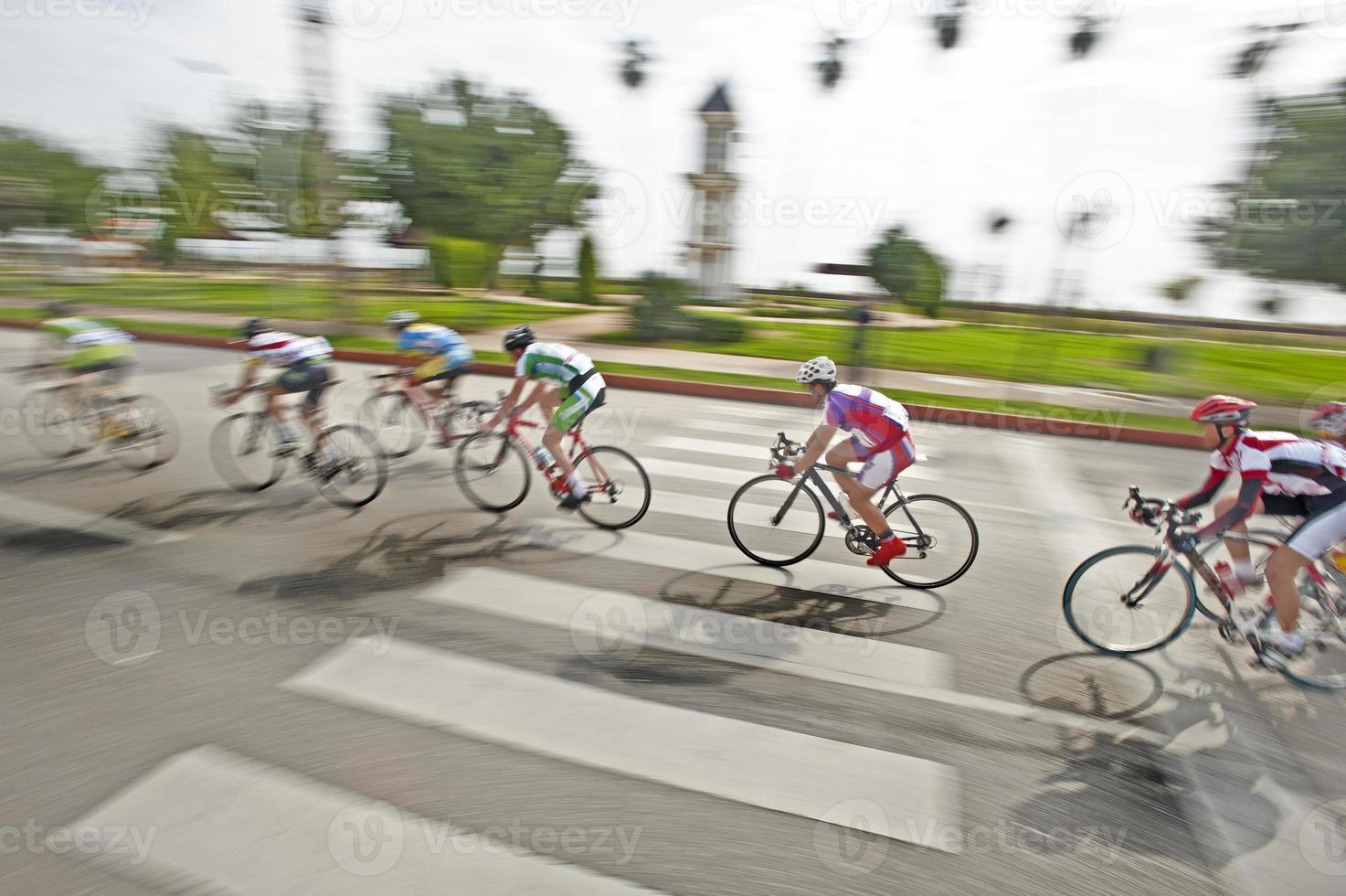 Fahrradrennen foto