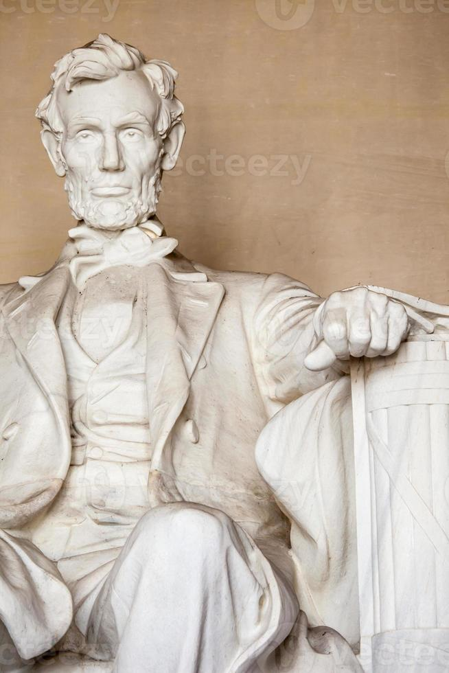 Abraham Lincoln Denkmal in Washington, DC foto
