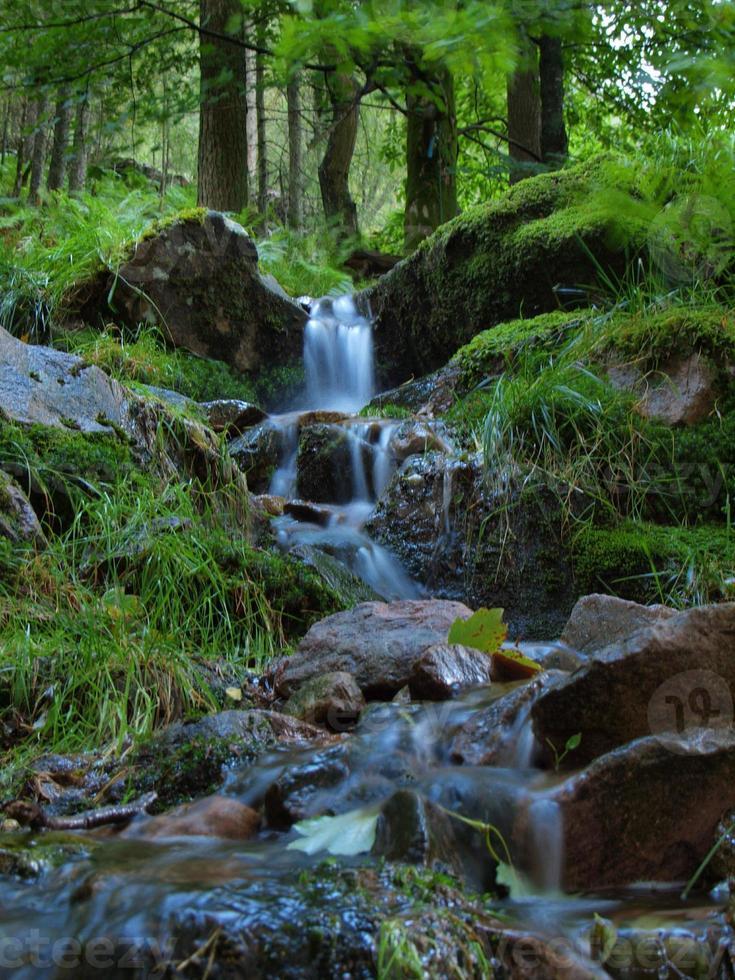 fließendes Wasser foto
