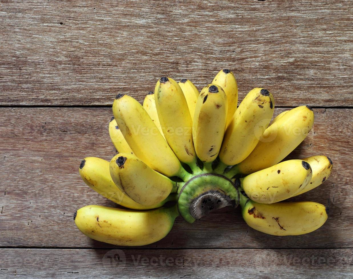 Art von thailändischer Banane foto