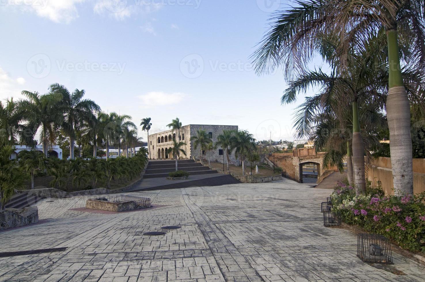Alcazar de Colon, Dominikanische Republik. foto