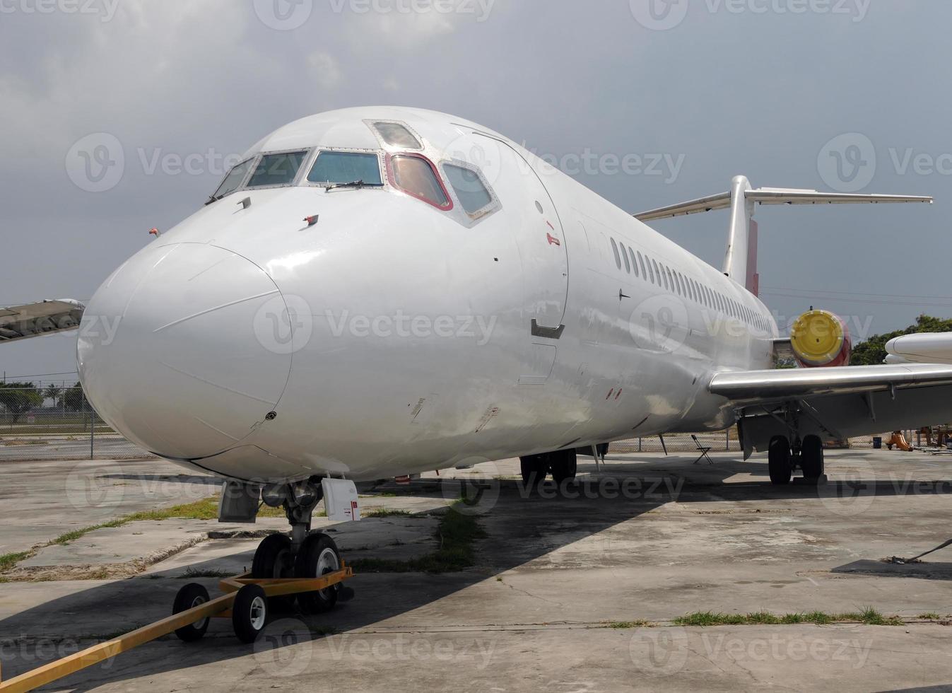 altes Flugzeug foto