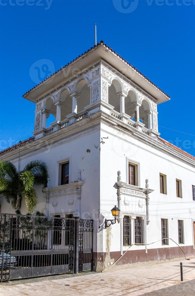Architektur von Santo Domingo foto