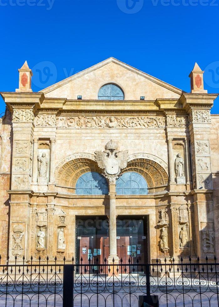 alte kathedrale von santo domingo foto
