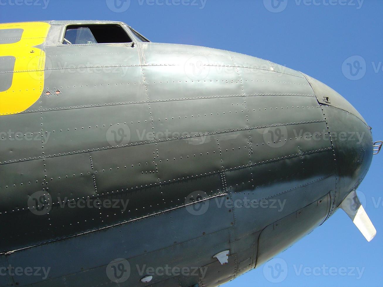 DC-3 Nase foto