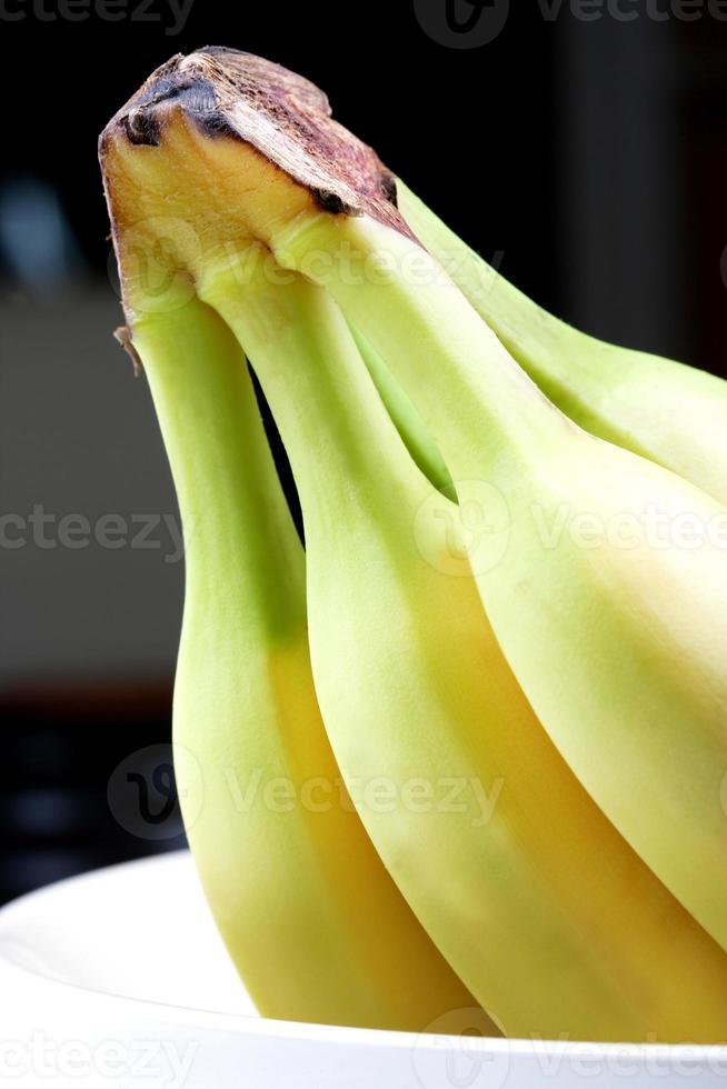 Nahaufnahme eines Bündels Bananen foto