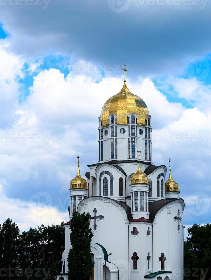 moderne Kirche in Kiew, Ukraine foto