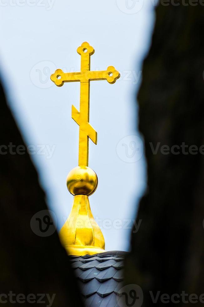 goldenes Kreuz foto