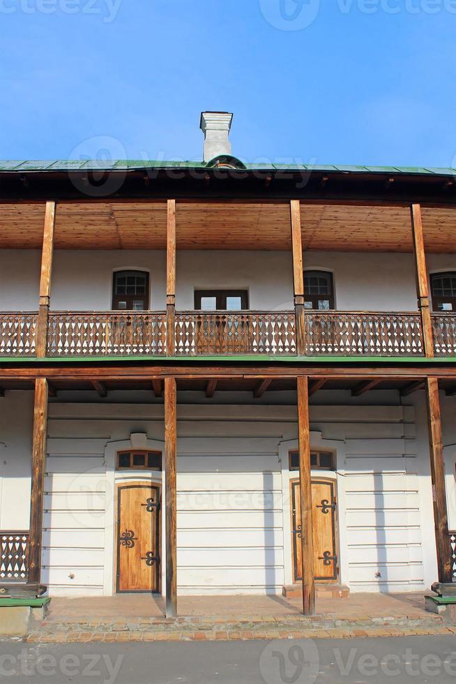 brüderliches Gebäude, ehemaliges Sophia-Kloster, Kyiv, Ukraine foto