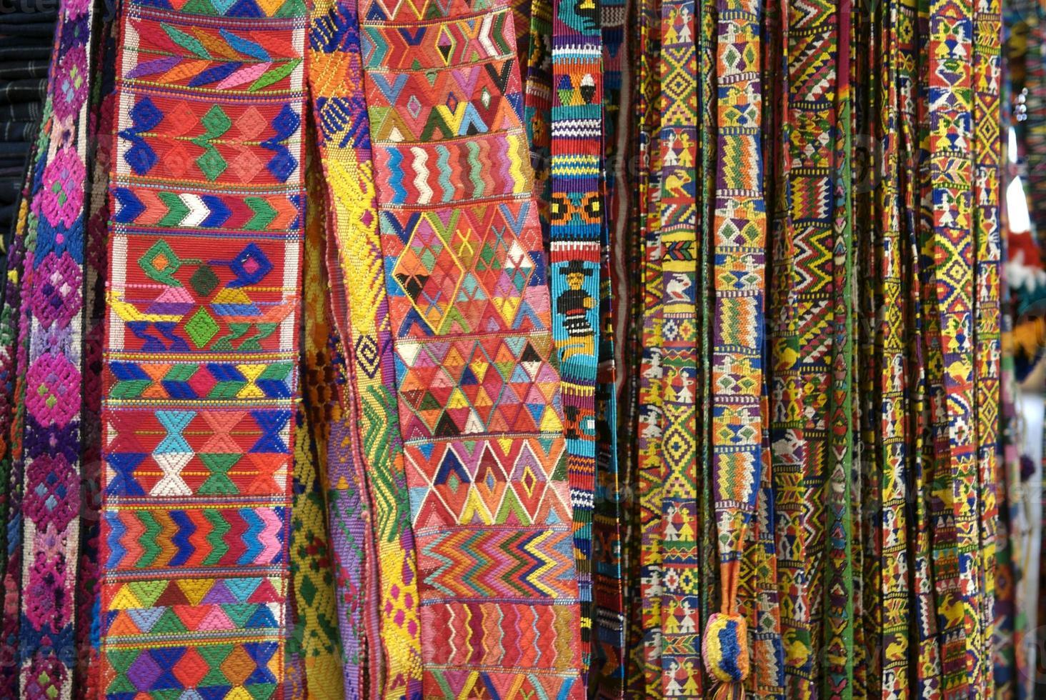guatemaltekisches Weben foto