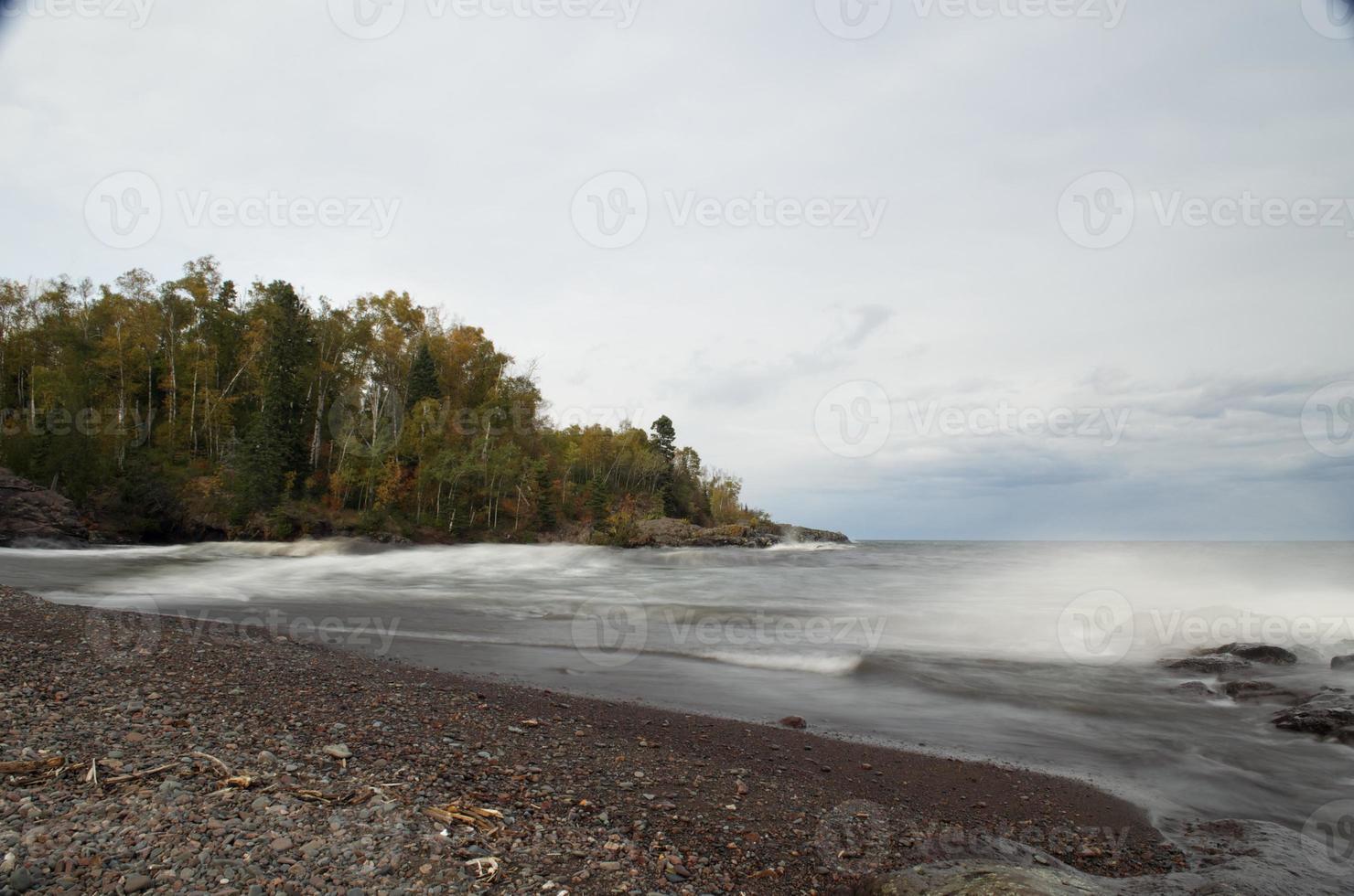 See überlegen im Herbst foto