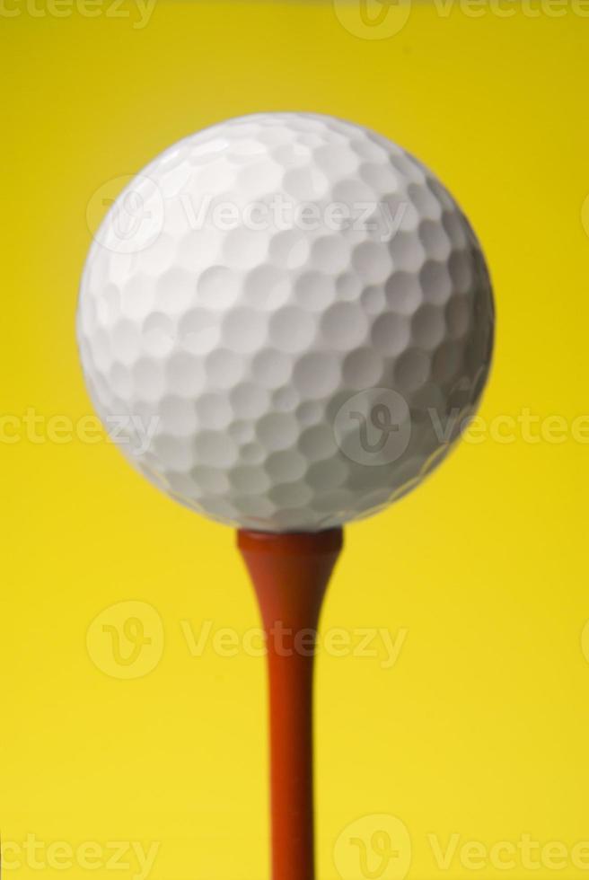 Golfball hautnah foto