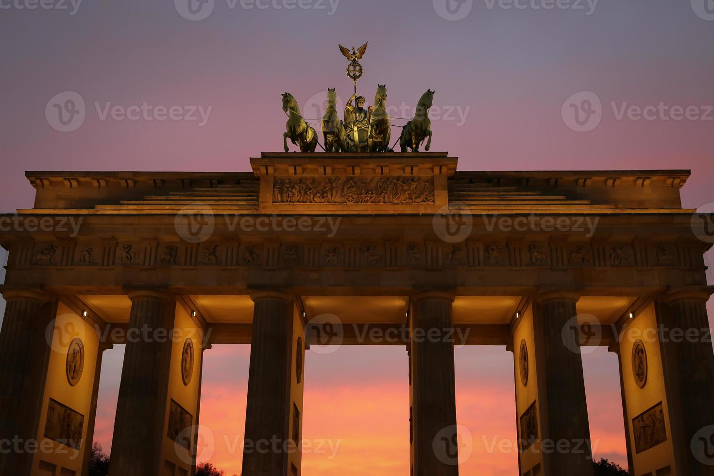 brandeburger tor, berlin foto