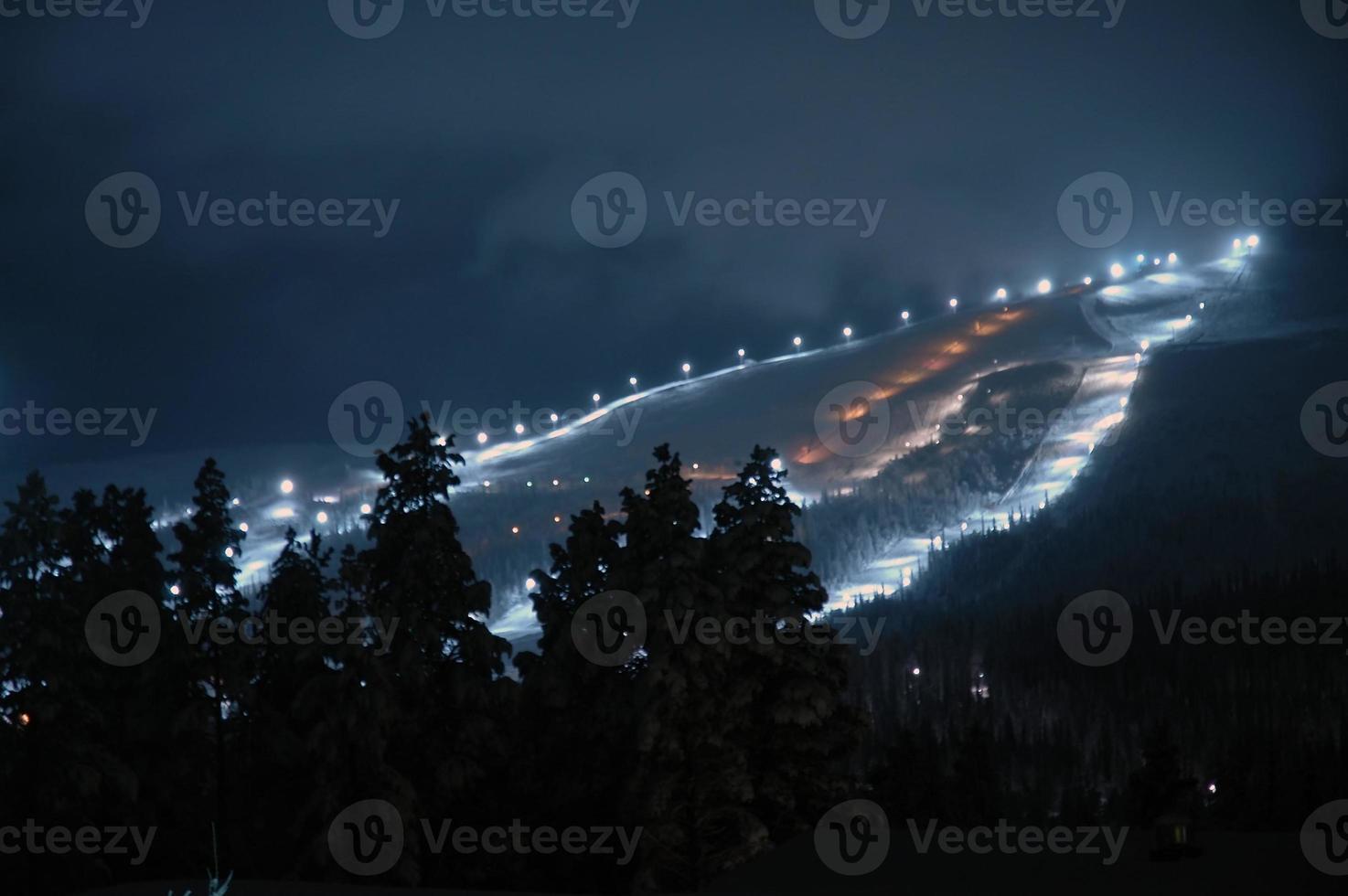 Skigebiet foto