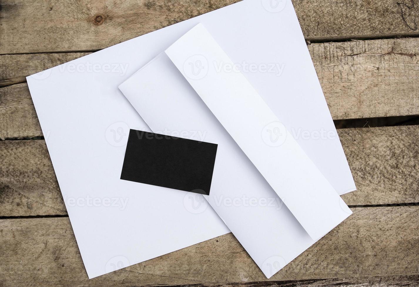 leeres Briefpapier foto